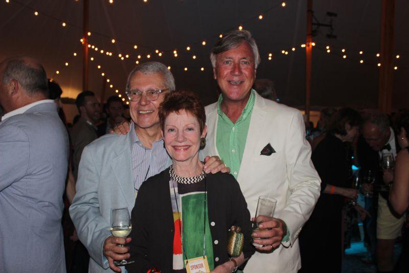 Richard and Jill Almeida and Merrill Benfield