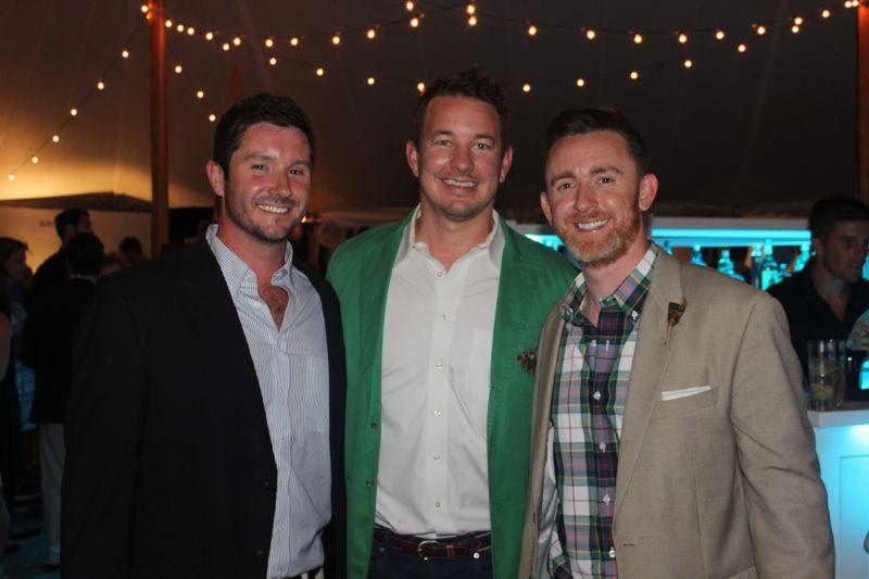Stephen Blevins, Luke Turner, and Chris Prophater
