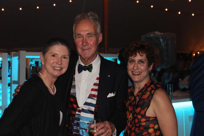 Theresa Evars, David Matthews, and Liz Guthridge