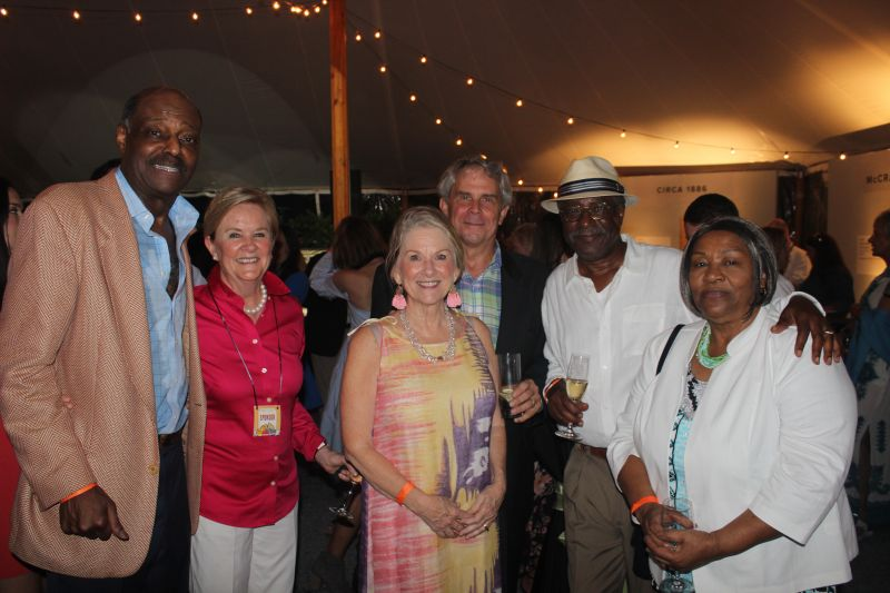 Roy Green, and Tator Beak, JoAnn and Milt Herne, Leonard and Linda Hanson