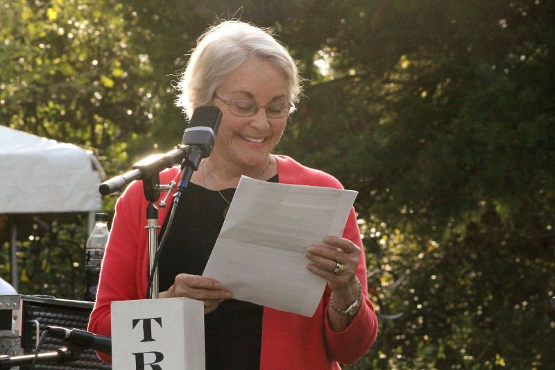 CHS member Sarah McDaniel offers a few words on her friend, the late Fran Read.