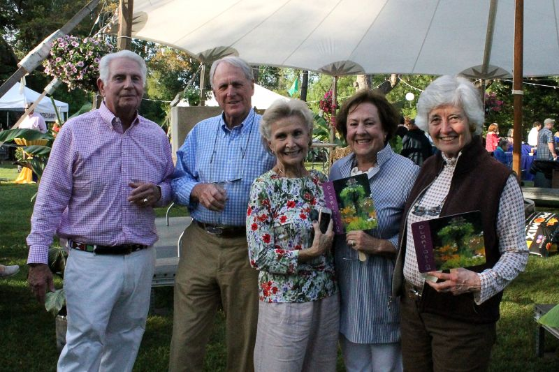 John Coppedge, Sandy Frazier, Penny Coppedge, and Mary Hull Frazier, Mollie Fair