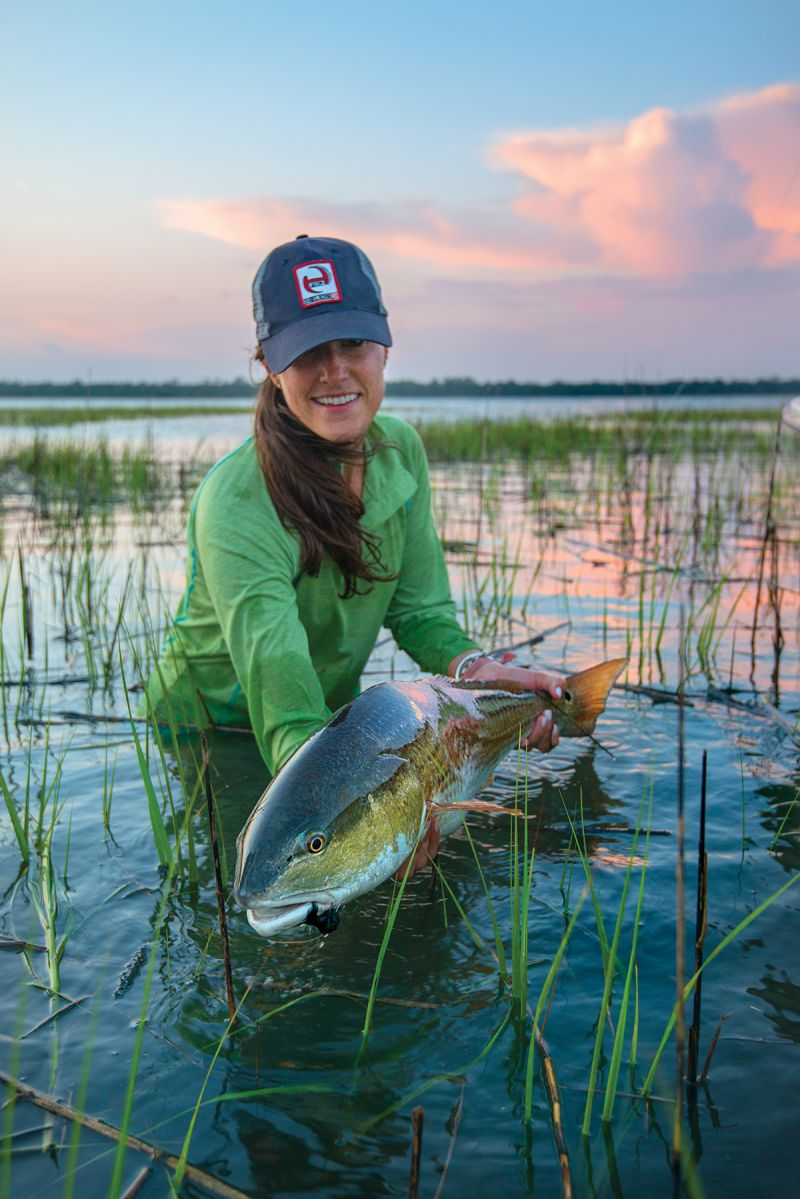 While regulations allow anglers up to two redfish (15 to 23 inches long) per person per day in state waters, most practice catch and release...