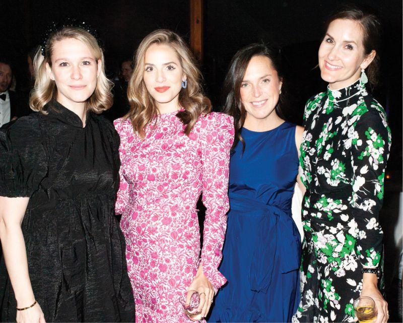 Hanna Seabrook, Julia Engel, Allison Laughridge, and Kate Long Stevenson