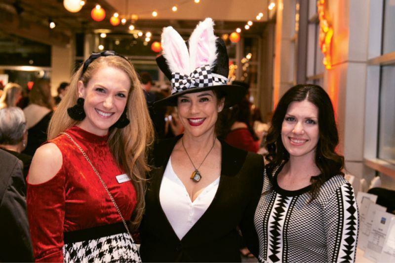 Catherine O'Rourke, Lia Colabello, and Maggie Roudsari