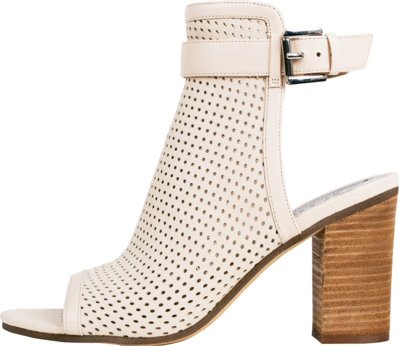 "1. Sam Edelman perforated leather ""Emmie"" boot in ""summer sand,"" $148 at Copper Penny Shooz"