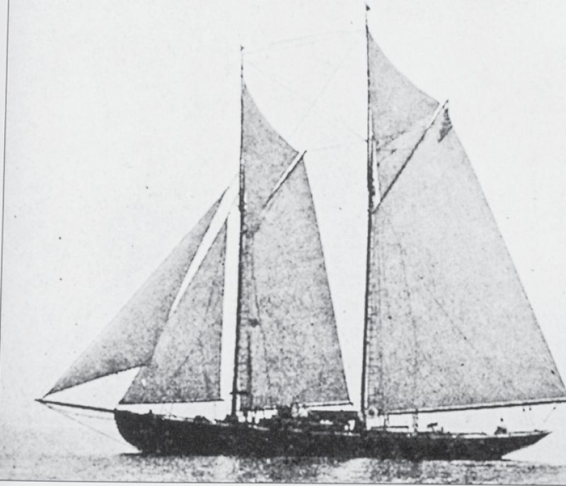Many schooners were built in local 18th-century shipyards. By the 1760s, approximately 80 percent of registered local vessels were schooners, according to Mount Pleasant: The Victorian Village (Arcadia, 1997).