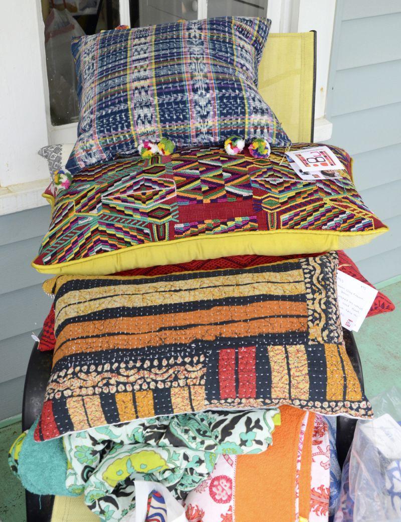 Piles of fabulous pillows
