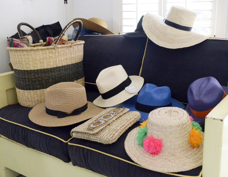 Oodles of hats and other summery accesories