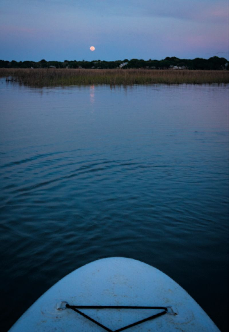 A full moon paddle.
