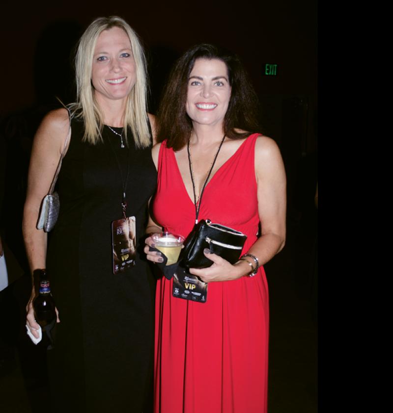 Heather Galloway and Heidi Alexander