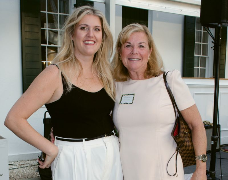 Bad Bitches co-founder Sarah Adams with her mom, Eleanor