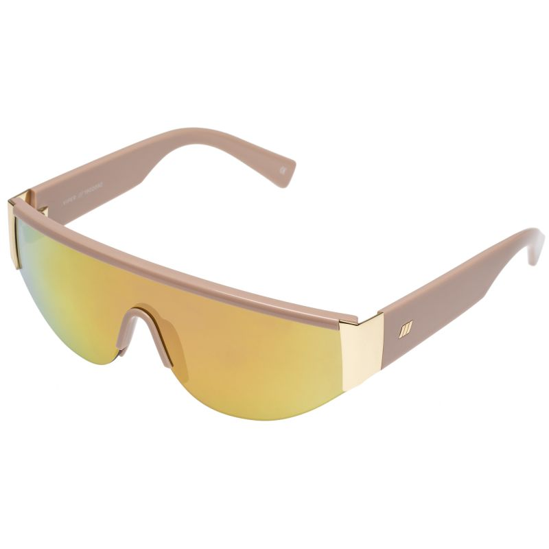 "Le Specs ""Viper"" in ""blush/gold,"" $89 at Out of Hand"