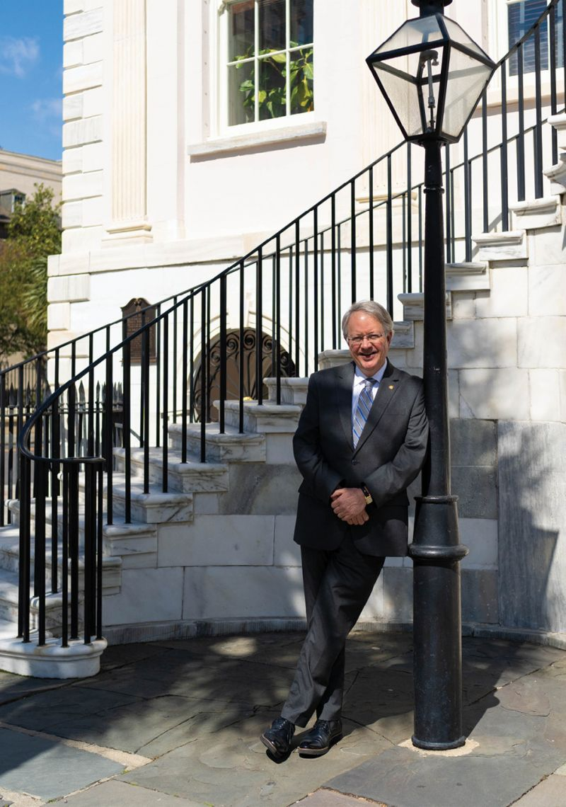 """Charleston Mayor John Tecklenburg asserts his team is making progress in tackling flooding and livability: """"We're in a better spot today than we were 10 years ago."""""""