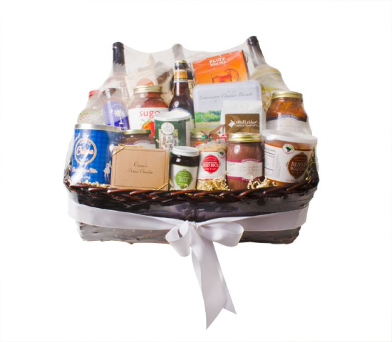 Southern Season gift basket 20 of the Lowcountry's best products, $275; southernseason.com