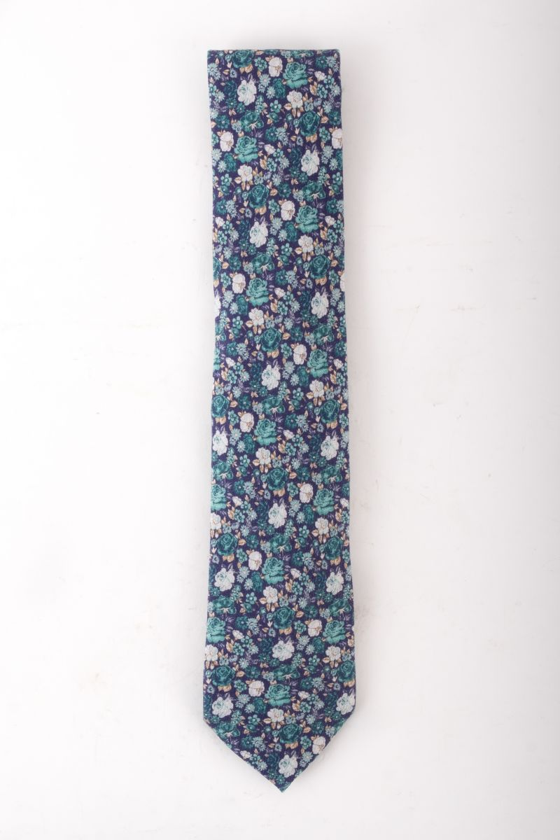 "Edward Arman ""Floral Shappe Diamante"" tie, $135 at Jordan Lash"