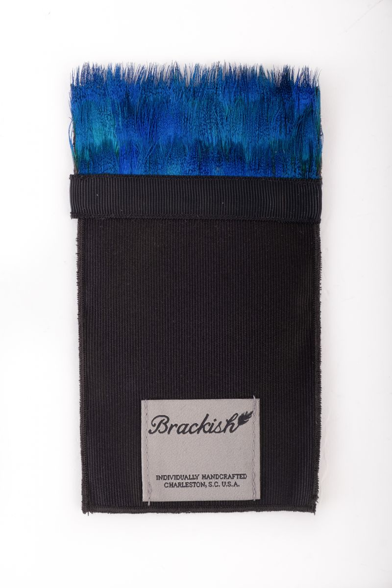 Brackish pocket square, $85 at Grady Ervin & Co.