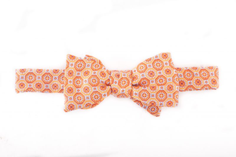 Carrot & Gibbs paisley bow tie, $70 at Grady Ervin & Co.