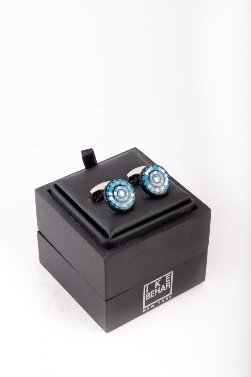 Ike Behar turquoise cufflinks, $165 at Ike Behar