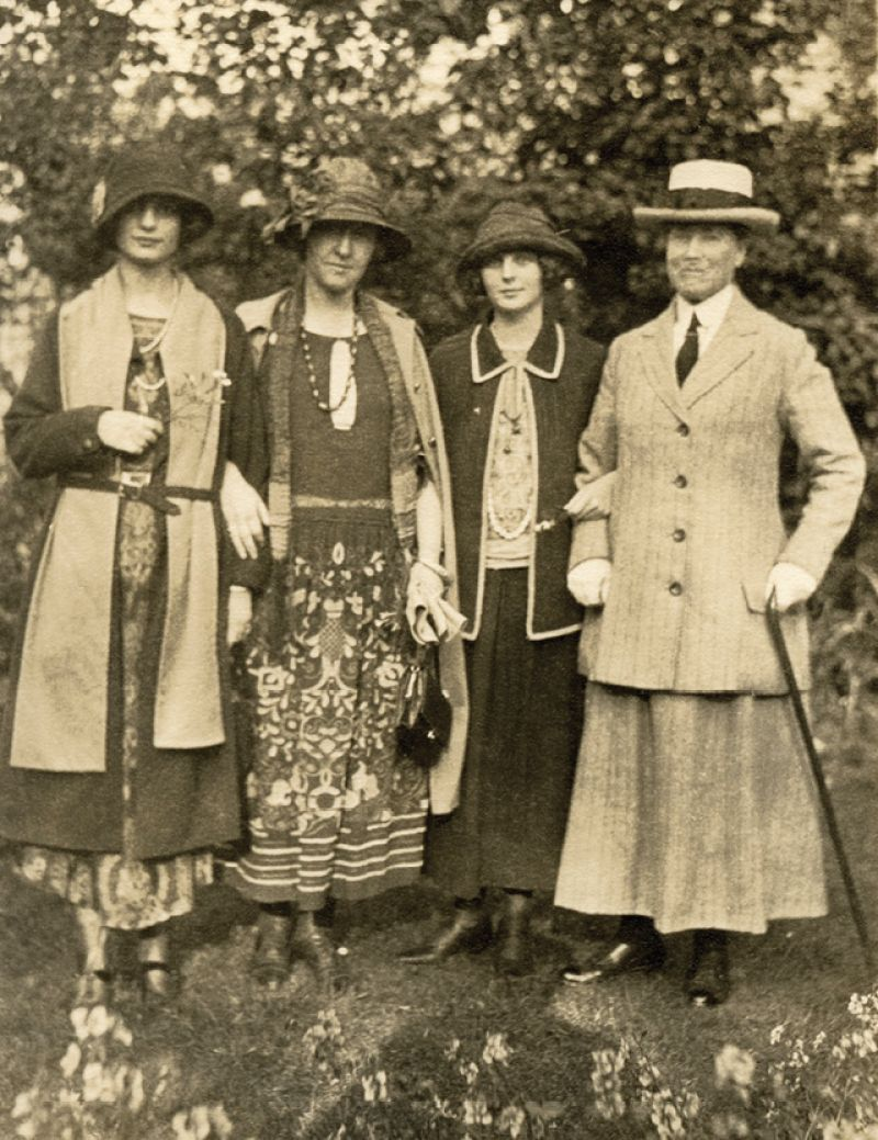 Taylor (second from the left)