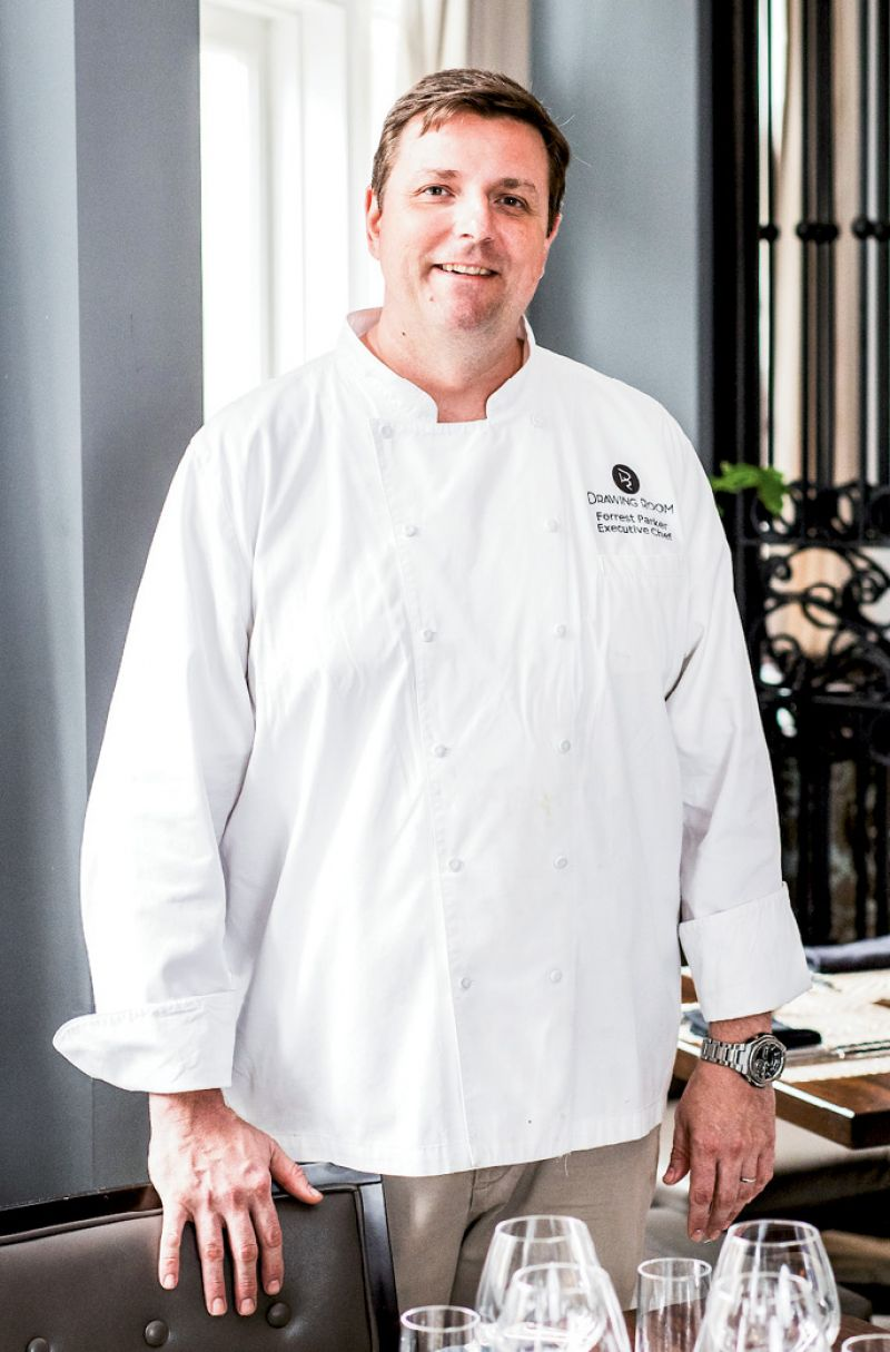 Heirloom Master: Executive chef Forrest Parker reworks Southern heritage crops into plates for modern palates.