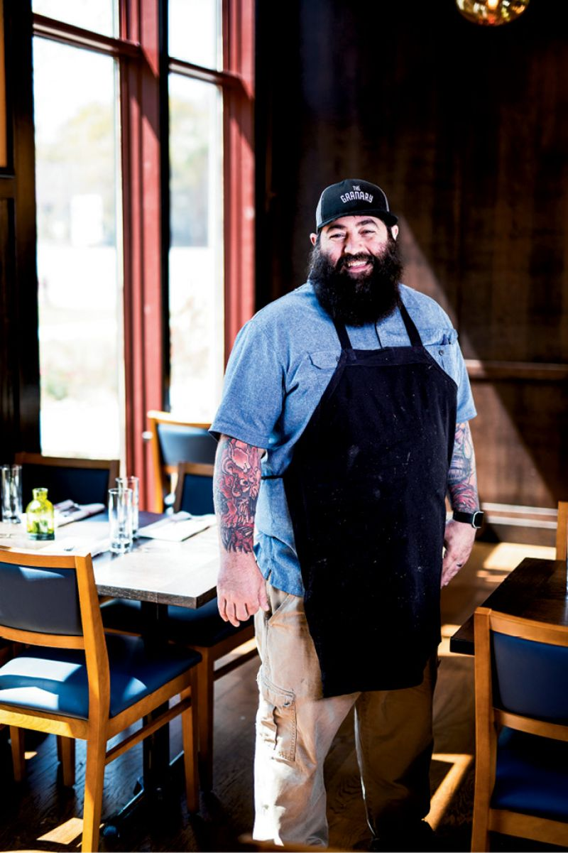 Homegrown: Executive chef Brannon Florie's Mount Pleasant farming roots inspired his veggie-forward menu.