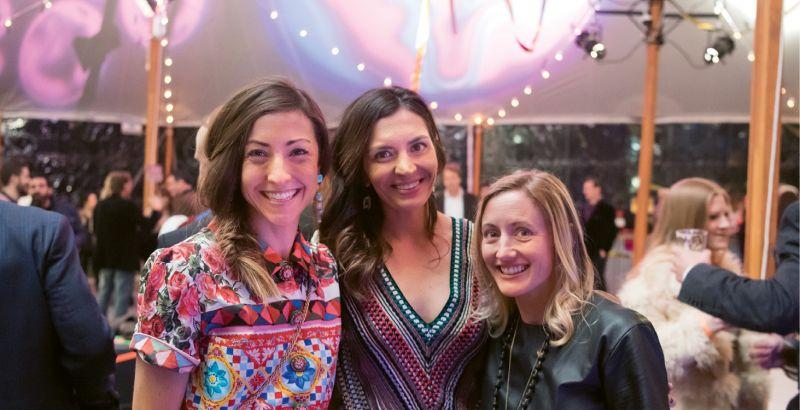 Charlotte Lucas, Candace Kenan, and Meg Phillips