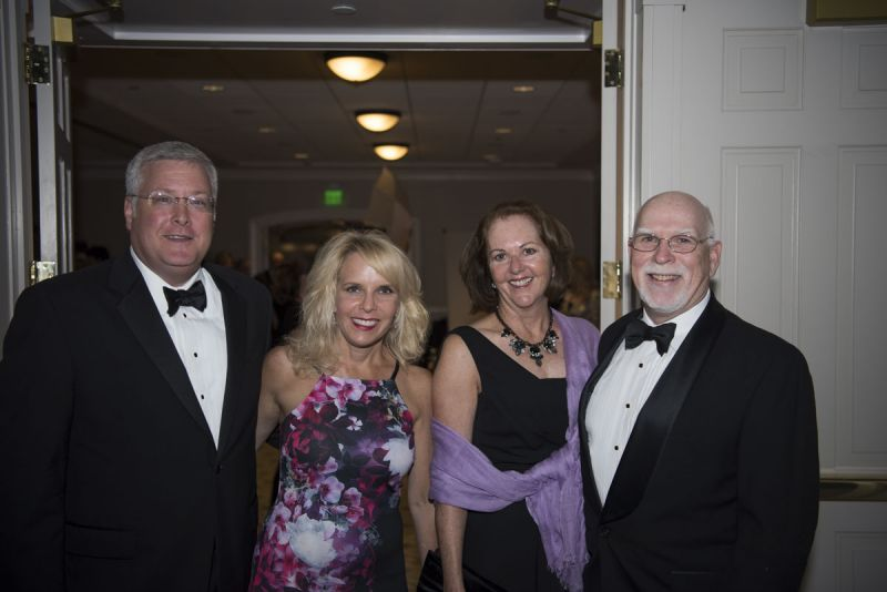 Kelly and Bret Johnson and Pat and Mary Beth Faulkner
