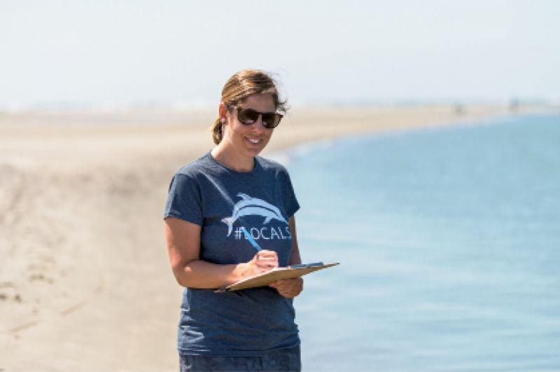 Dolphin Dame: When marine biologist Lauren Rust returned to Charleston after working in marine mammal protection on the West Coast, NOAA funding was drying up, so she founded the nonprofit Lowcountry Marine Mammal Network in 2017 to extend outreach and protection efforts.