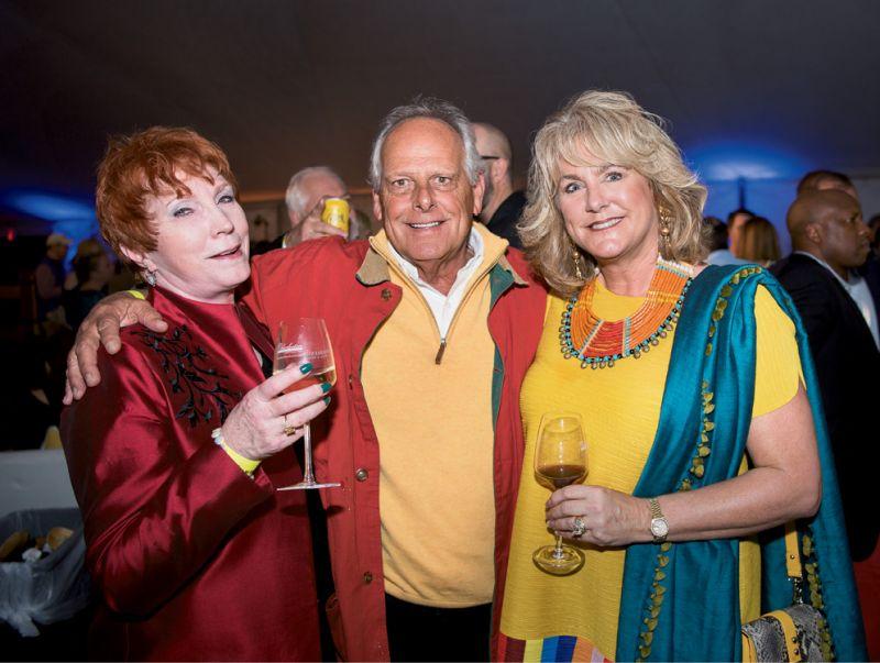 Linda Hancock, Joe Walker, and Carolina Bryan