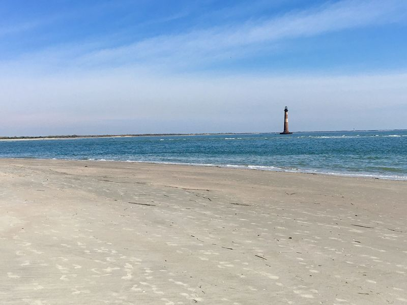 Folly Beach - Morris Island Light