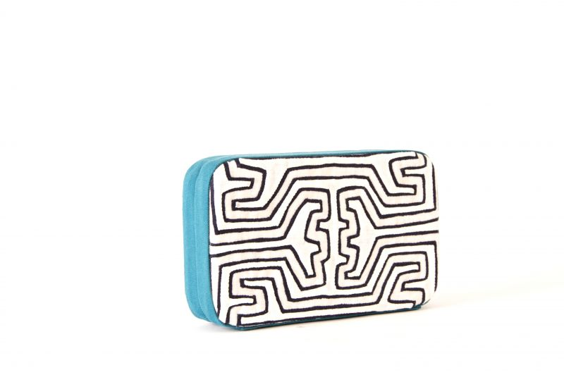 "Mola Sass ""White Box"" clutch, $395 at ibu"