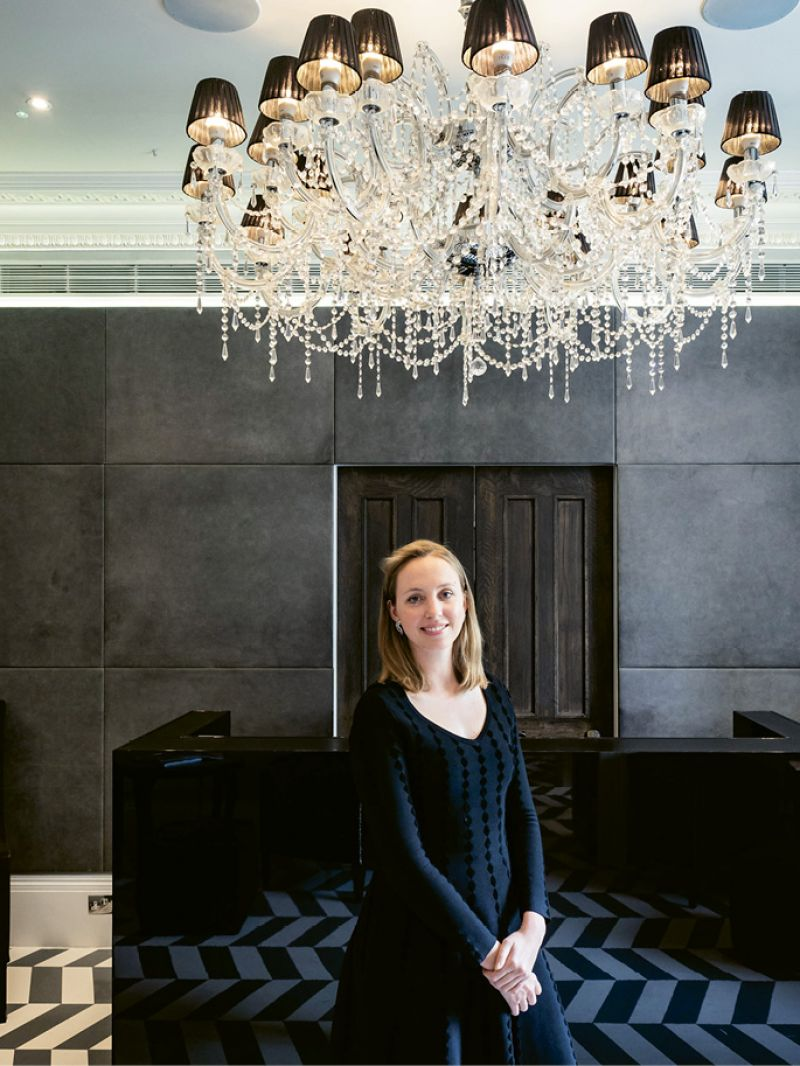 "Olivia Byrne, in 2011 dubbed the ""UK's youngest hotelier"" at age 23, renovated and opened the property which continues to win awards for its design and tech-savvy amenities."
