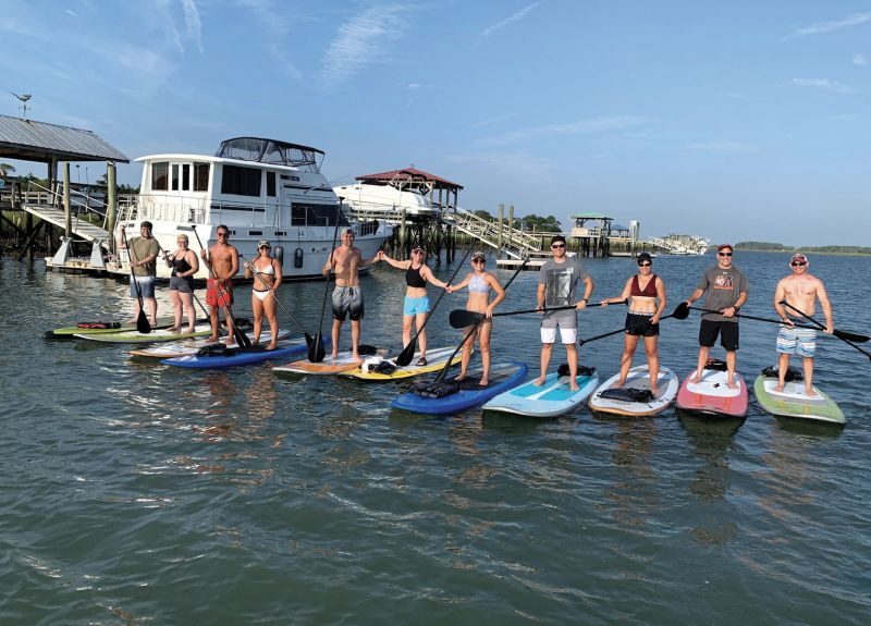 A Folly Creek tour with Charleston Paddle Company.