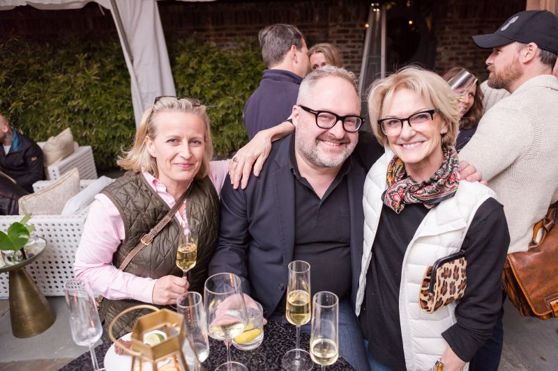 Patty Floersheimer, Christian Bryant, and Trudi Wagner