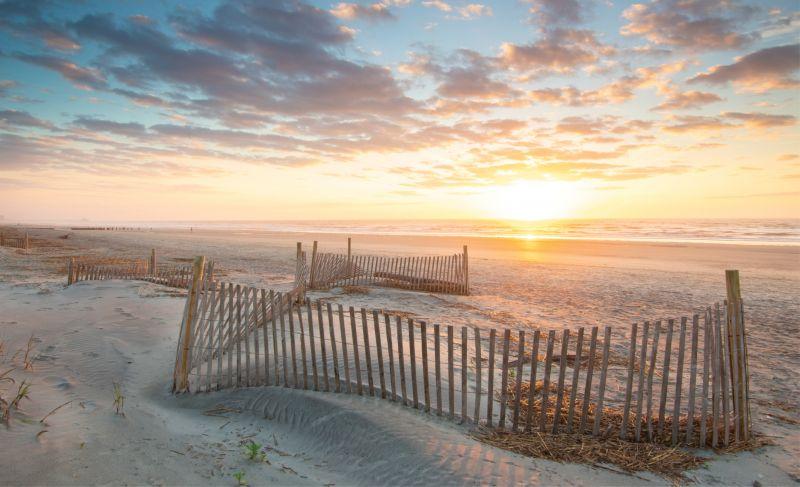 A Perfect Morning: Sunrise on Folly Beach