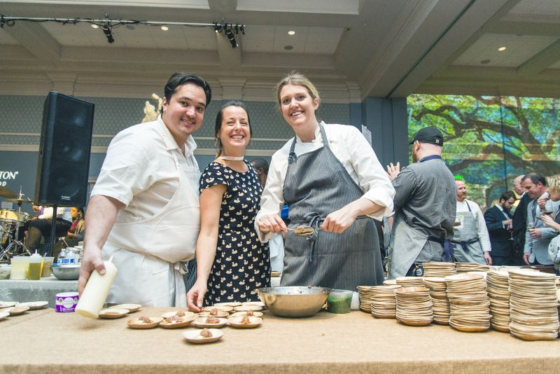 "FIG chef Jason Stanhope's ""The Vanderhope Blini Shoppe: Blini Assortment"