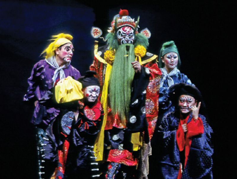 The Peony Pavilion, an 18½-hour-long opera sung entirely in Chinese.