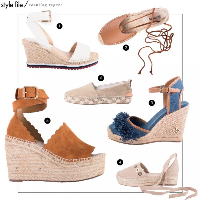 "007140464a9 Tommy Hilfiger ""Yaslin"" espadrille wedge sandals"