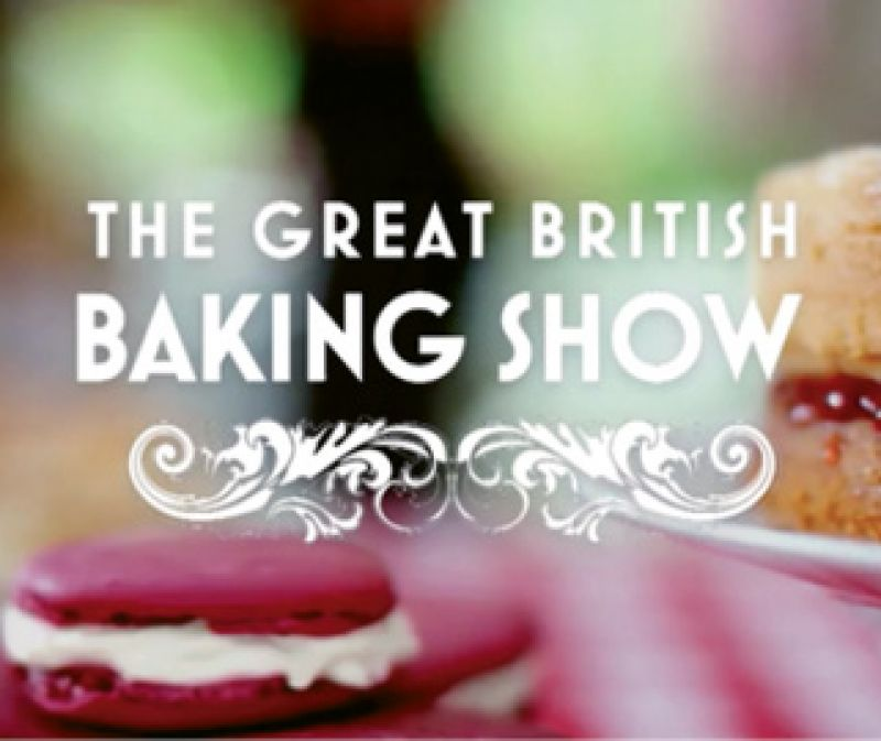 """Show Binge: """"I've been watching the Great British Baking Show. So along with eating chocolate all day, I now bake when I get home."""""""