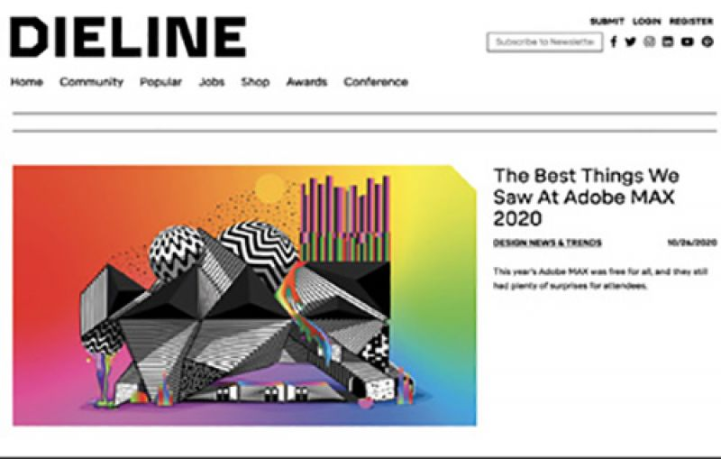 """Word Nerd: """"I read about 100 articles a day—about news, sports, sneakers, hip-hop. I'm a huge fan of Dieline packaging design website and Black news magazine The Root."""""""
