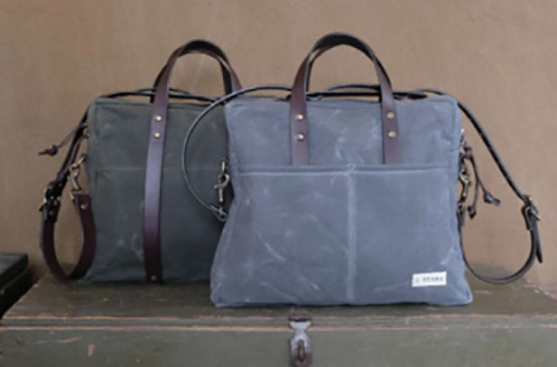 """Stark Raving: """"I have four J. Stark bags. I love their durable canvas. You can bust them up or throw them in the wash, and they still look good. They always turn heads. """""""