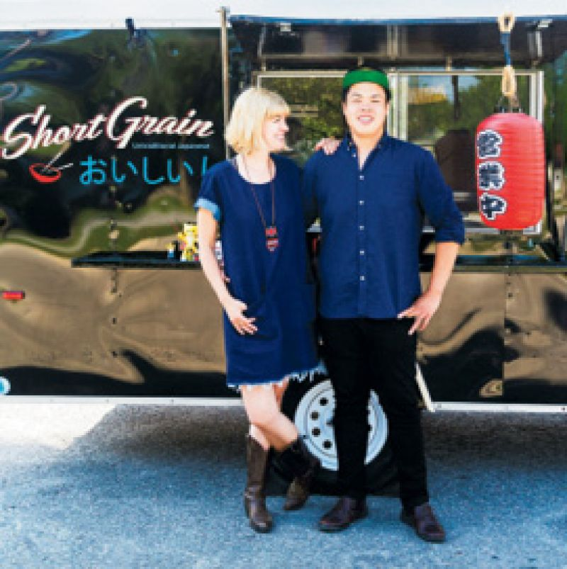 "Asian Alternative: ""Short Grain food truck is definitely fusion food, but Shaui and Cori Wang do it so well."""