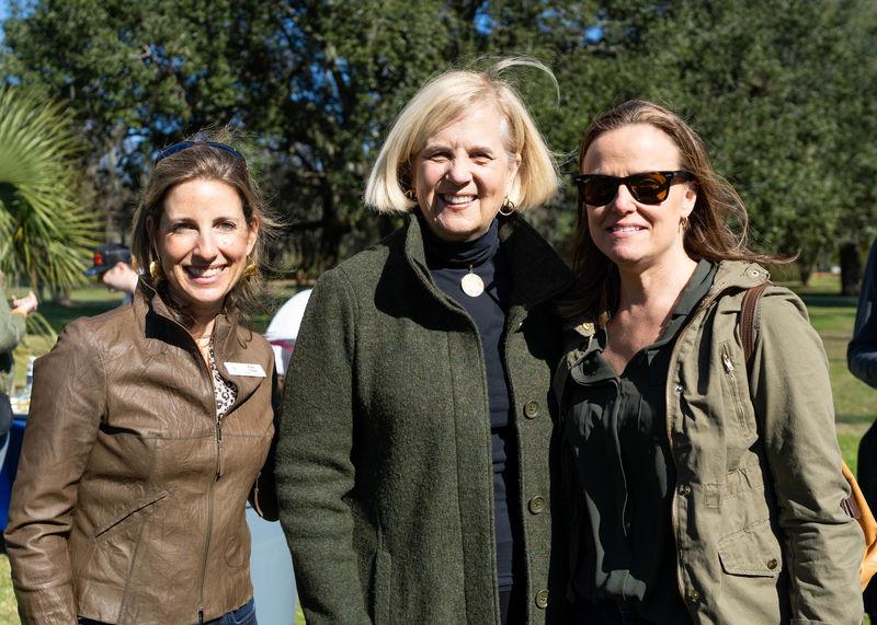 Ellie Tiller, Kitty Robinson, and Ginny Conlon