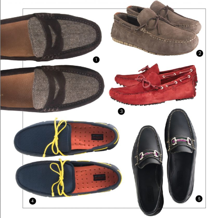 "50cc9802317 Polo Ralph Lauren ""Wes"" suede and tweed penny loafer in ""earth dark brown"