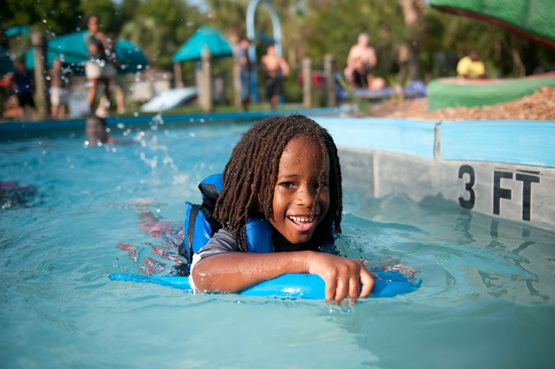 Mount Pleasant - Splash Island at Palmetto Islands County Park