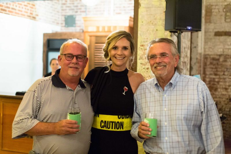 Charlie Smith, Katie Drewry, and Jim Gallagher