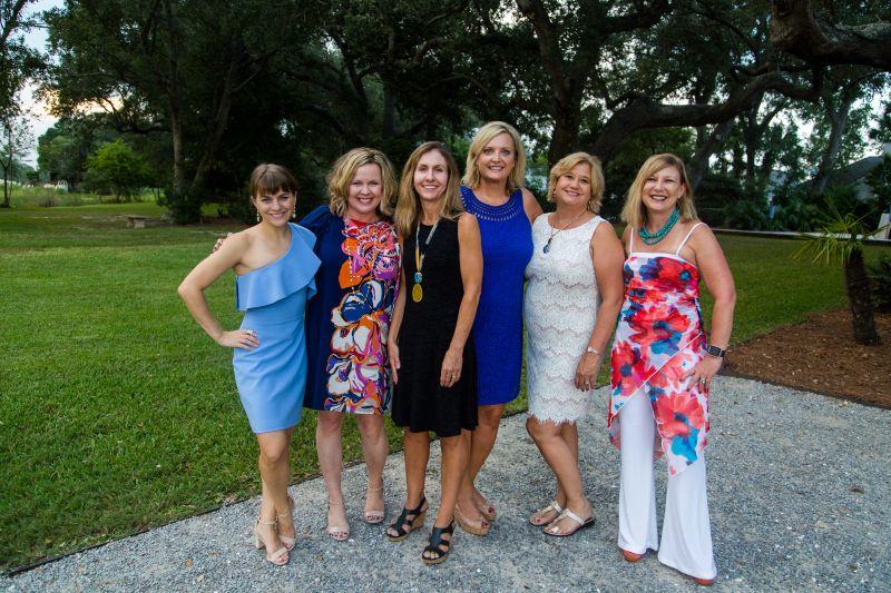 Keely Laughlin, Lisa Morsman, Macon Hillebrand, Jamie Estes, Gail Deye, and Sheryl Stone