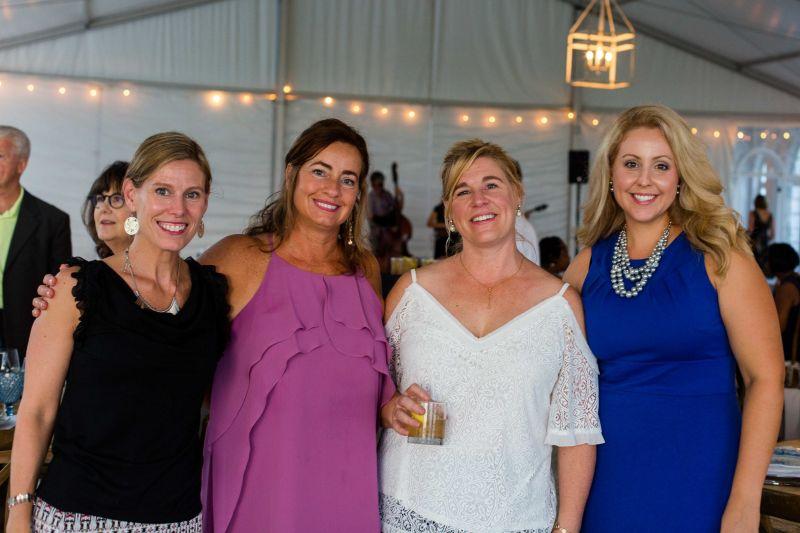 Sarah Taylor, Tiffney Cullum, Maureen Larson, and Sarah Mockler