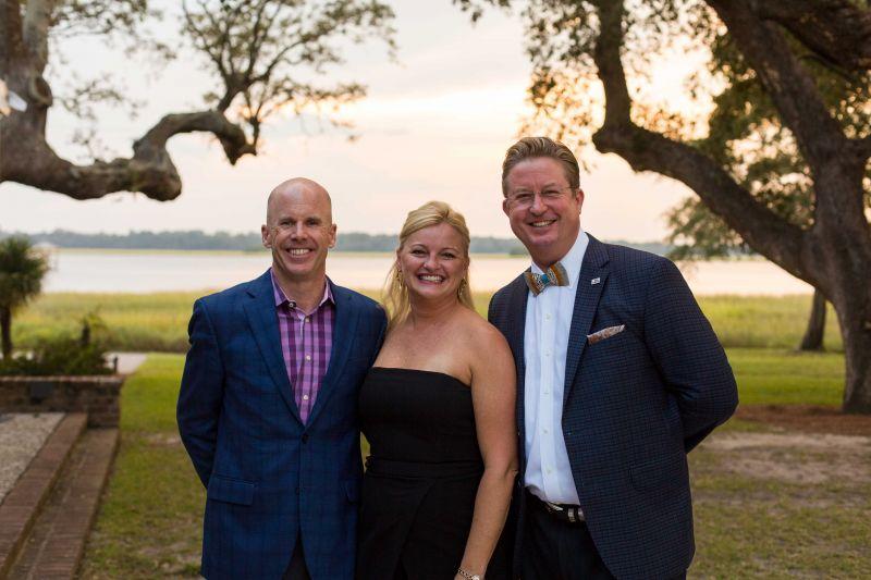 Jeff Black with Jennifer and Randall Goldman